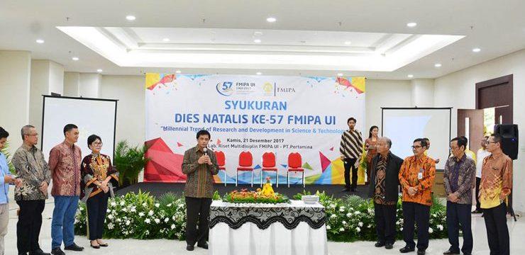 Syukuran Dies Natalis Ke 57 FMIPA UI
